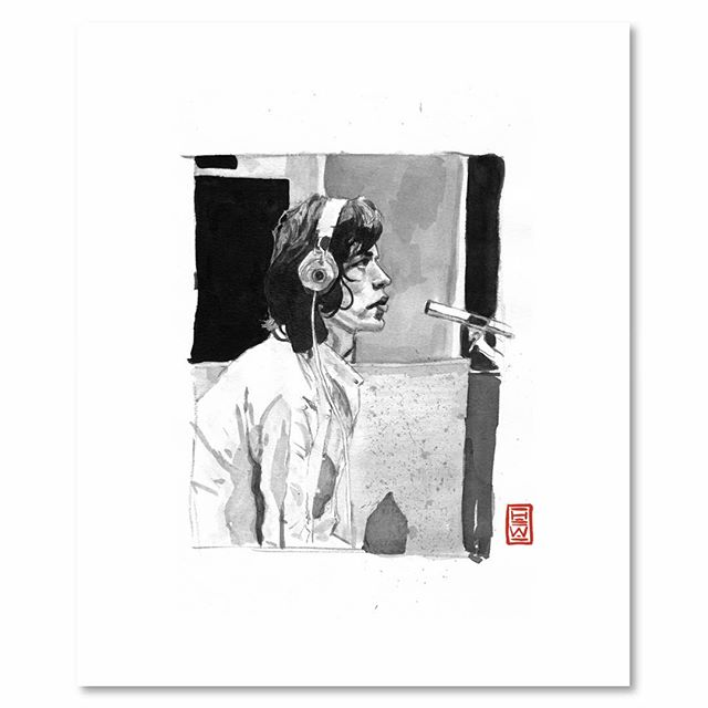 Mick Jagger | N E W work in the shop⚡️⚡️⚡️ . . To purchase an archival print from us, clink link in profile. . . . ©️2019 Yokai Studios Illustration by Hassan Warrior . .  #yokai #yokaistudios #yokaistudiosshop #etsy #art #artwork #wemakeart #illustration #illustrator #drawing #blackandwhite #black #bnw #print #archivalprint #fineart #fineartprints #wallart #japaneseink #ink #brush #legend #icon #artist #portrait #mickjagger #rollingstones #fineart  #inkpainting