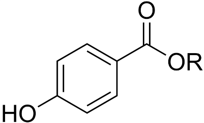 Chemical Structure of Paraben