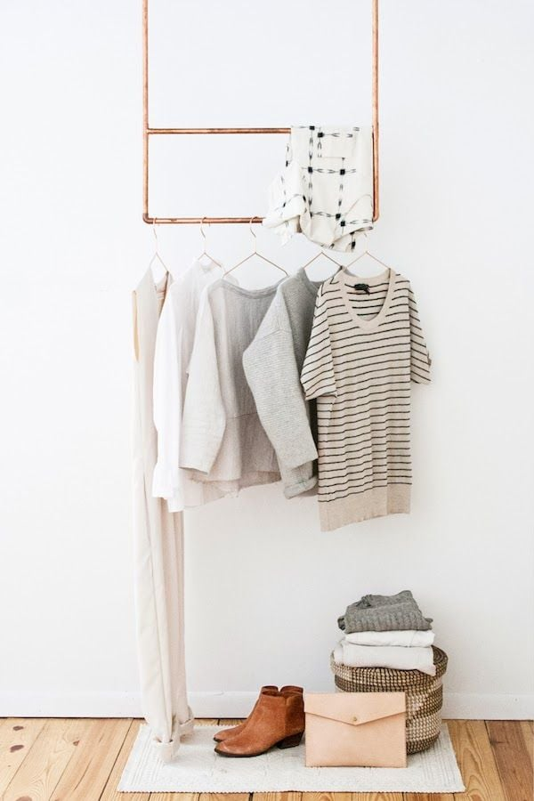 DYI copper clothing rack minimalist.jpg