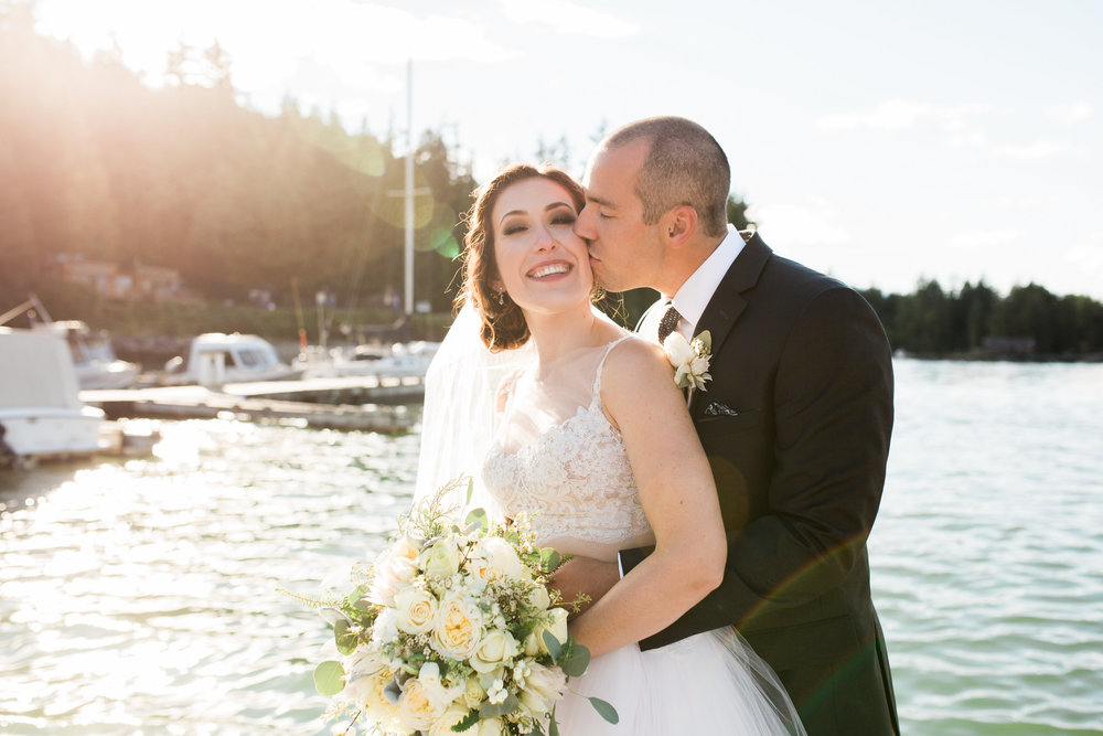 Alicia + Dawson  West Coast Wilderness Resort | Jennifer Picard Photography