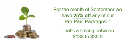 VA pre-paid package