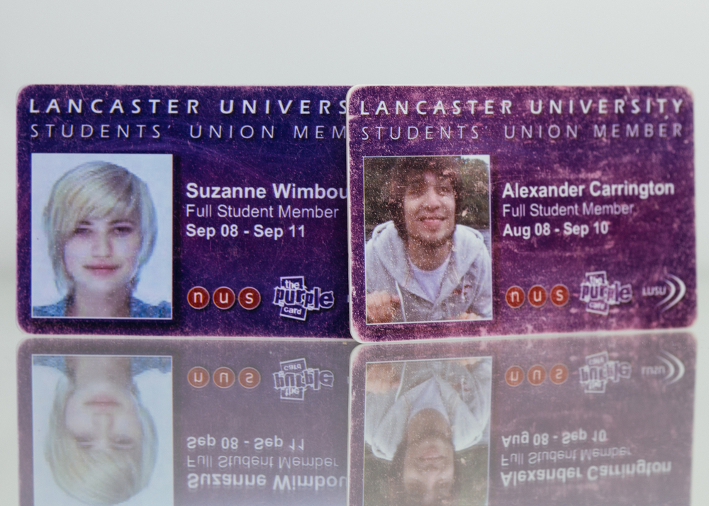 Lancaster University Purple Cards