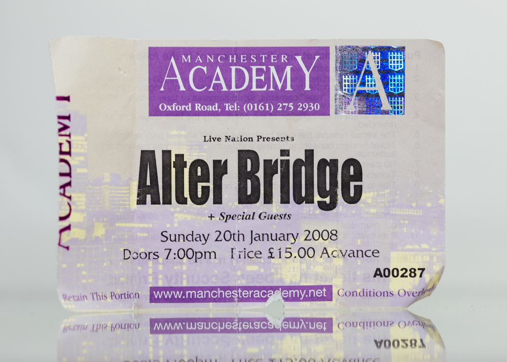 Alter Bridge - Manchester Academy 2008