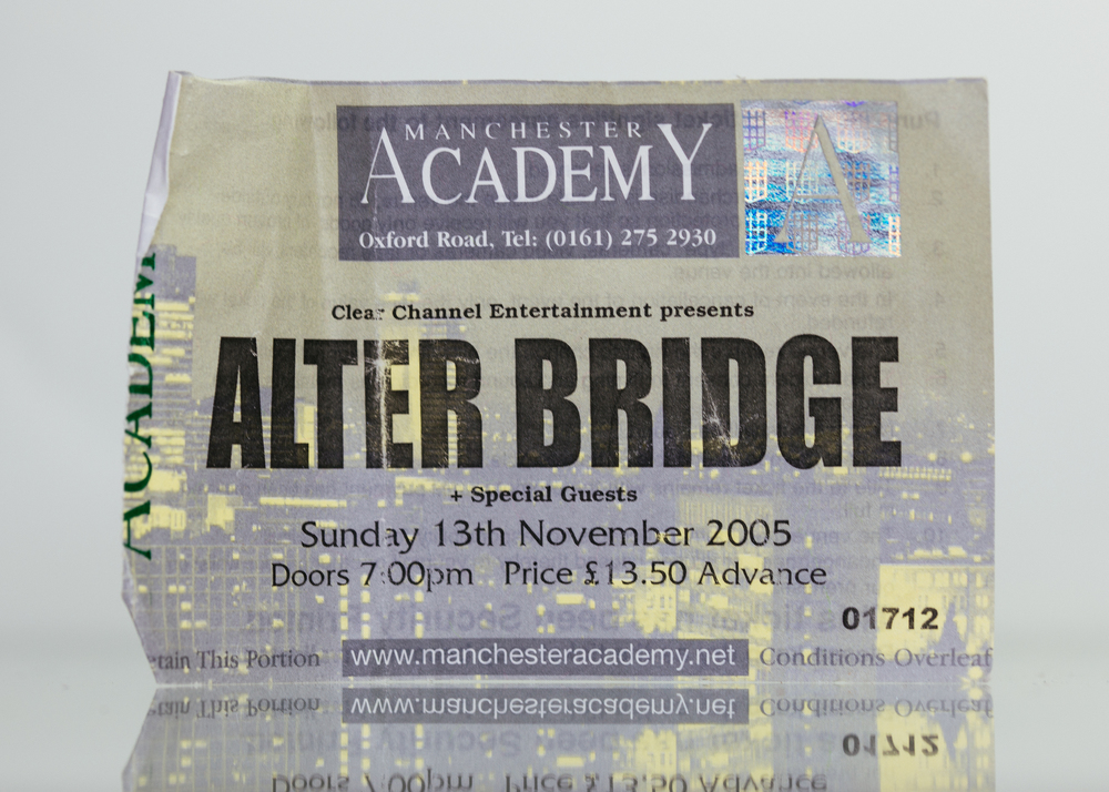 Alter Bridge - Manchester Academy 2005