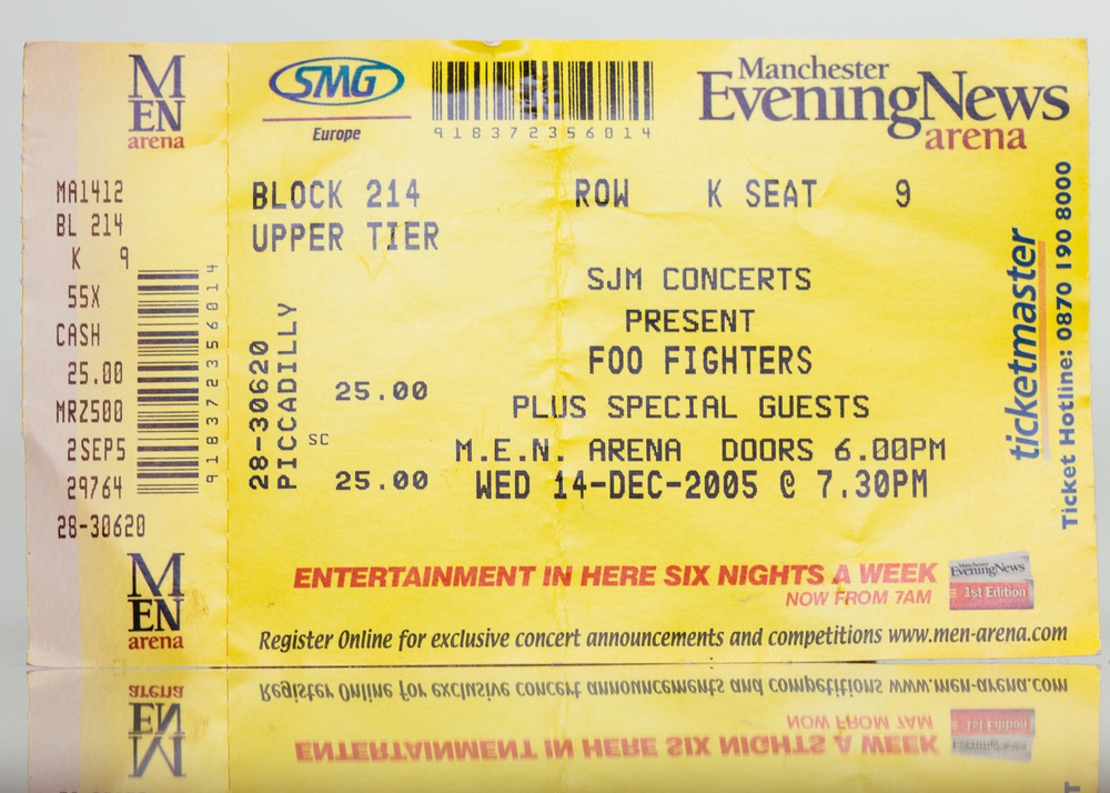 Foo Fighters - M.E.N Arena