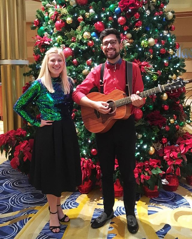 We couldn't look more festive if we tried! Merry Christmas and happy new year from Suzy and Alex