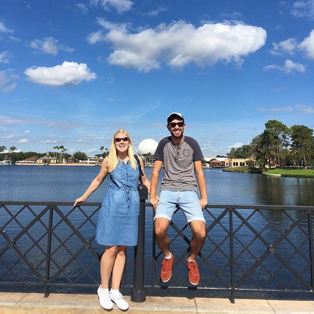 Only 2 weeks left performing on board the Disney Dream and today we had time to pop to Epcot for the morning before heading back to Port for another week on our floating home.