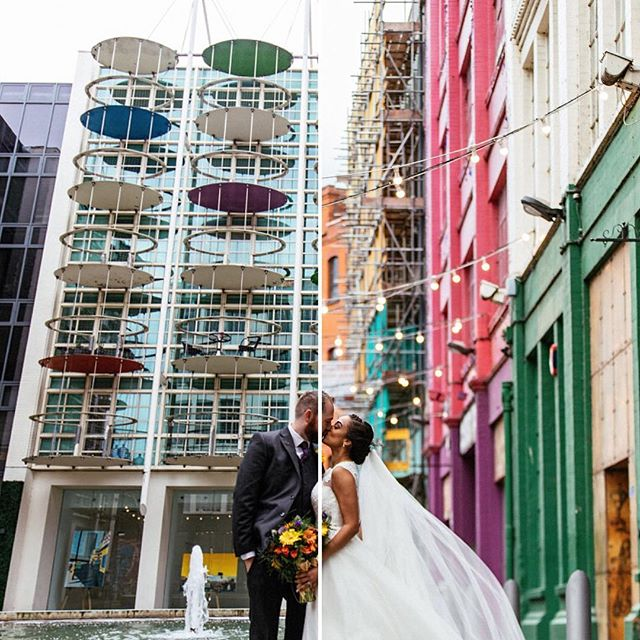 Custard Factory, Wedding, Birmingham, 2017. Us at work, day-job part 1. We are @suzywimbournephotography  #loveauthentic #belovedstories #weddinginspiration #vsco #vscofilm #loveintentionally #iseebeauty #manchesterweddingphotographer #cheshireweddingphotographer #rangefinder #creativewedding #junebugweddings #wayupnorth #photobugcommunity #loveandwildhearts #authenticlovemag #lookslikefilm #instawed #weddingphotography #adventurouswedding #thatsdarling #custardfactory #digbeth #thebondcompany #birminghamweddingphotographer #suzyandalex #suzywimbournephotography