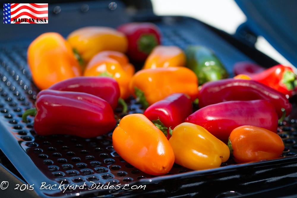 bbq grill topper 16 x 12 inch