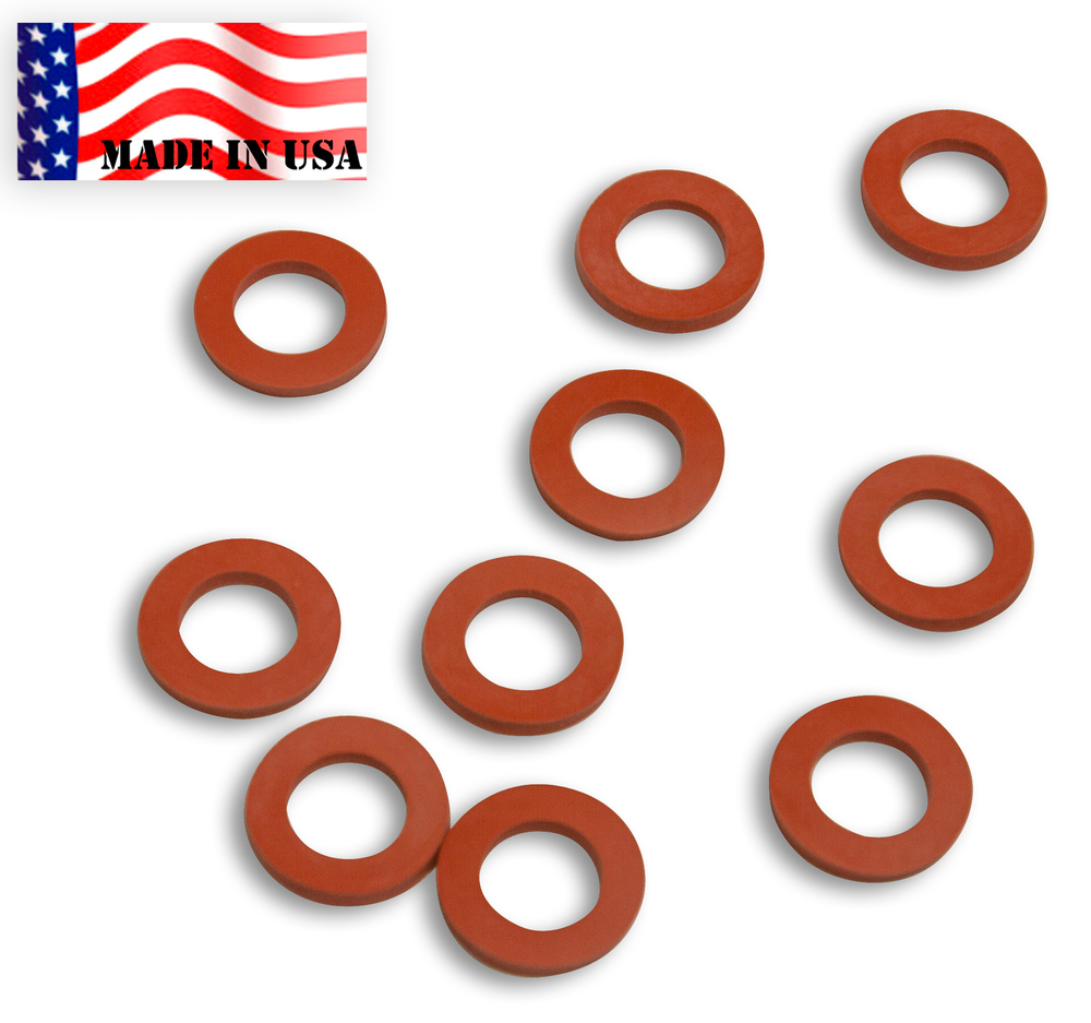 10 Garden Hose Rubber Washers — Backyard Dudes BBQ Grilling Tools