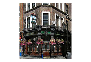 Fancy a pint? The Ship Soho