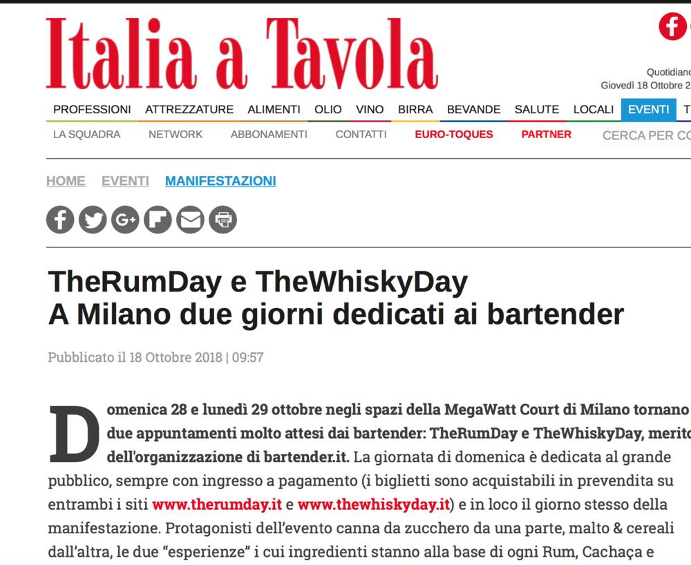 Italia a Tavola -