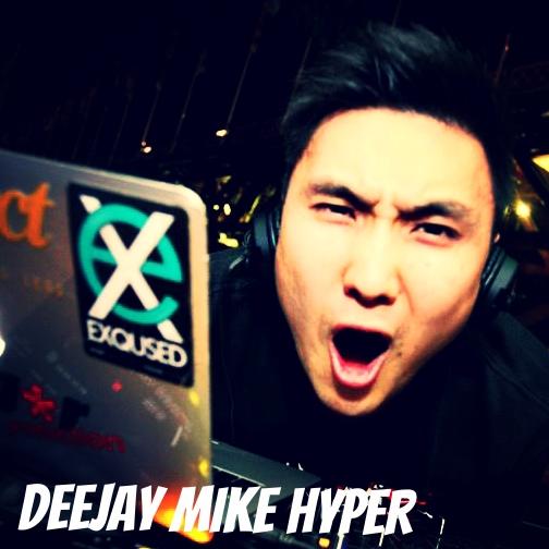 deejay MIKE HYPER