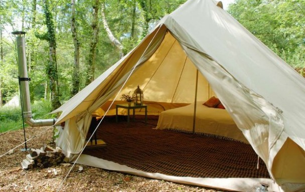 cool camping at canopy and stars