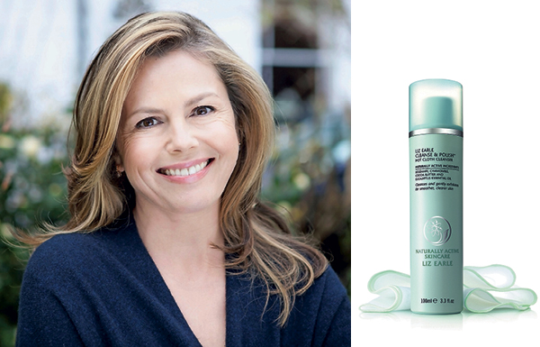 Liz Earle and Cleanse & Polish