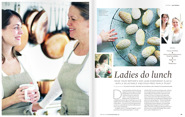 Madeleines recipe, The Simple Things