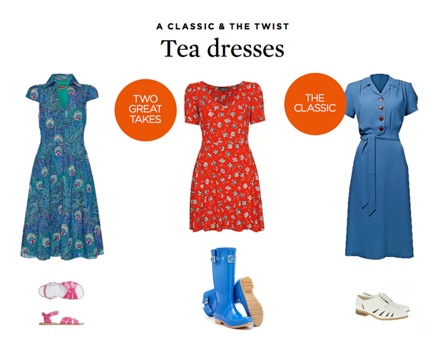 tea dress style | the simple things