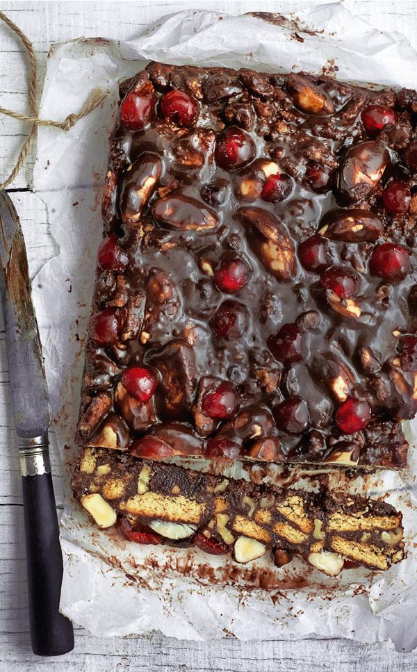chocolate fridge cake | the simple things