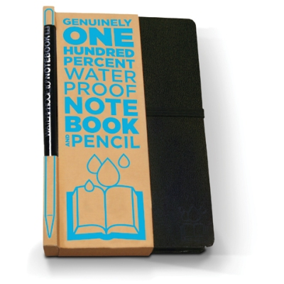 3. One for the true weather whiz - a 100% waterproof notebook ensures no meteorological markings will go astray, £10.00,  Science Museum Shop .