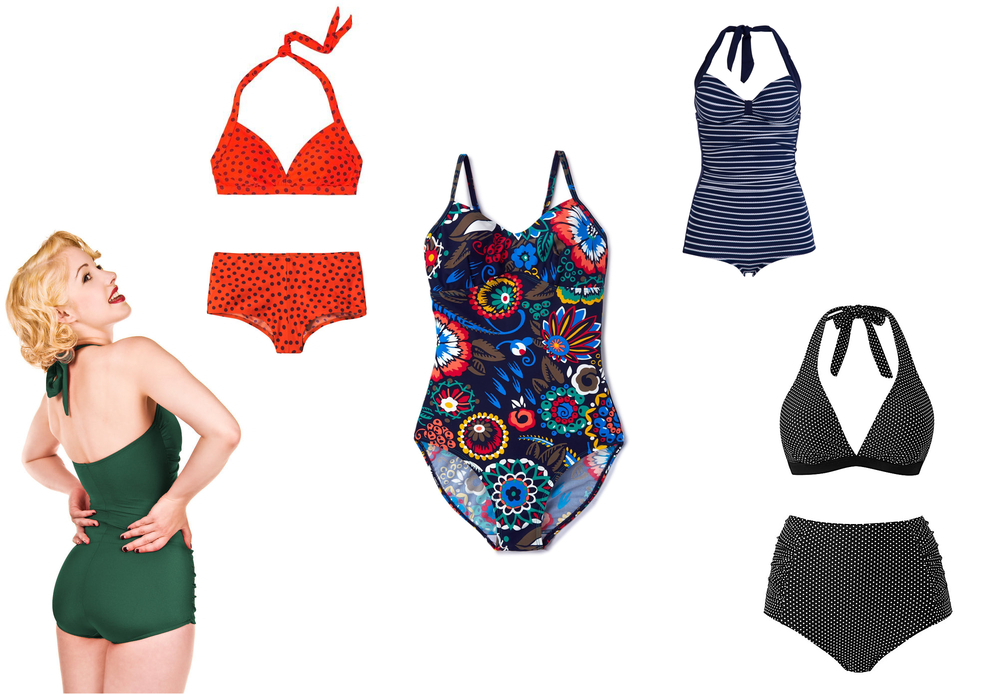 Swimming costumes and bikinis for women