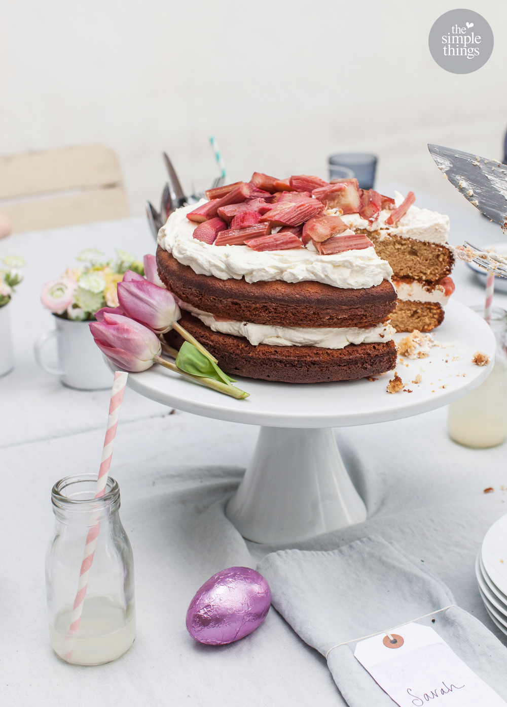 Recipe: LOUISE GORROD Photography: EMMA GUTTERIDGE