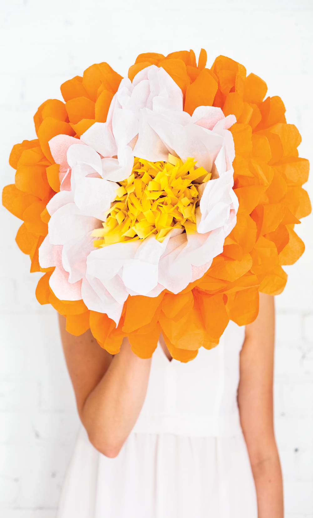Make giant paper flower the simple things mightylinksfo