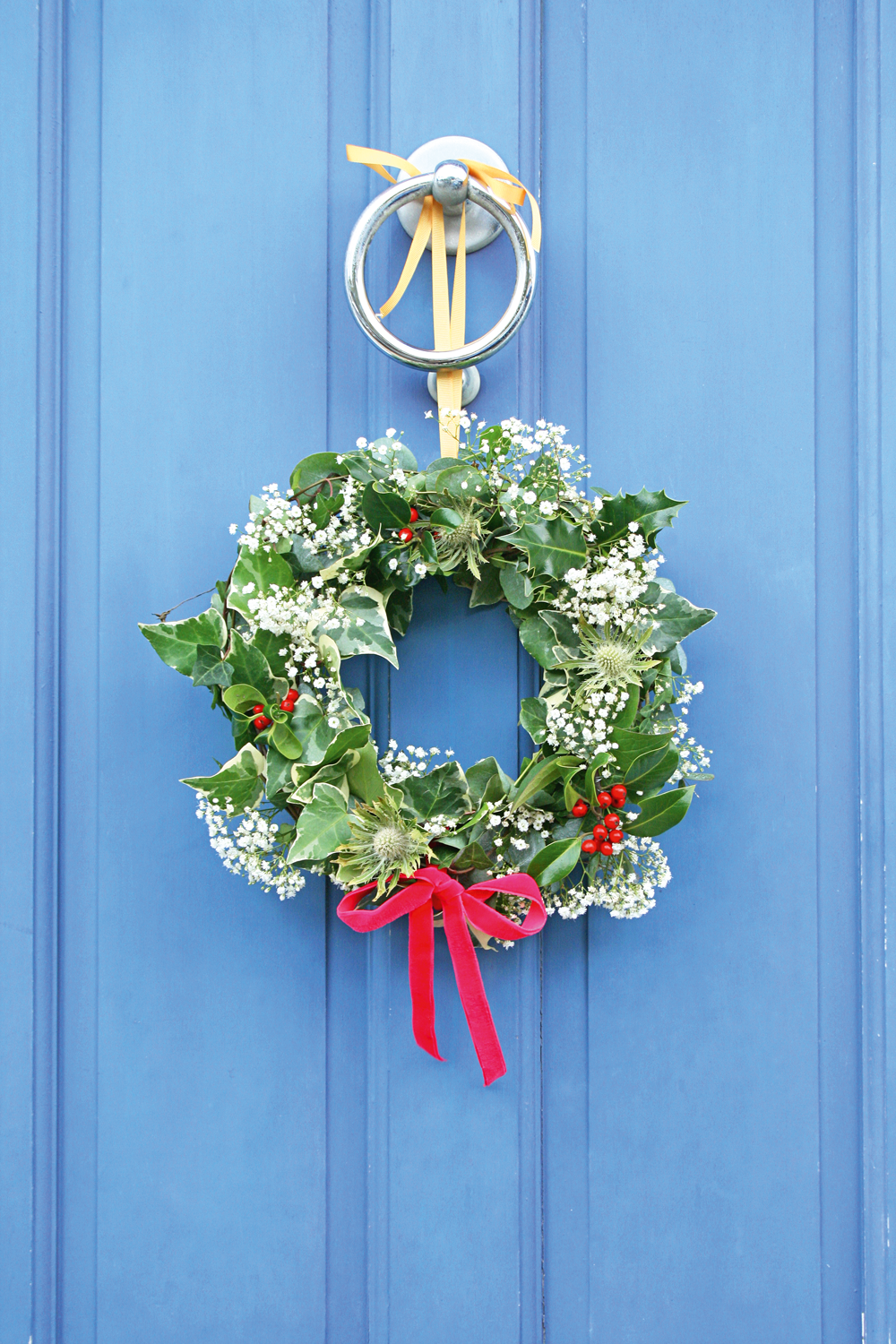 Make | Foraged Christmas wreath | The Simple Things