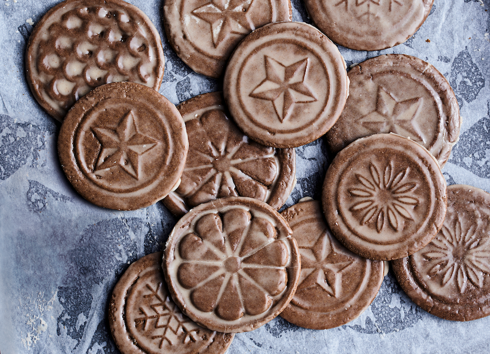 Recipe Soft Gingerbread Tiles With Rum Butter Glaze The Simple
