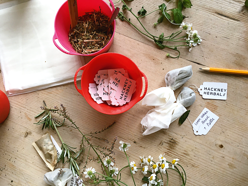 Project & photography: NATMADY/ HACKNEYHERBAL