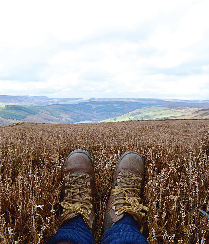 My walking boots by Abigail Mann