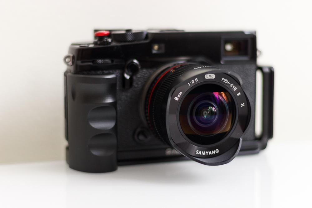 Fujifilm X-Pro2 + Samyang MF 8/2,8 UMC Fish-Eye