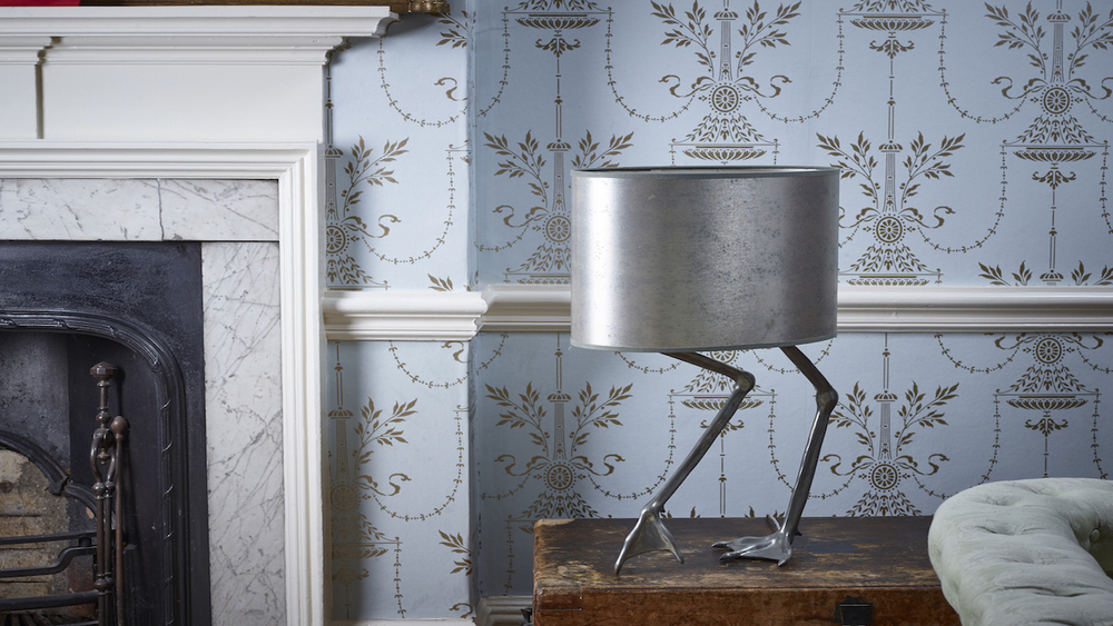 Andara Lamp (silver) RRP £2115 / Sale Price £900