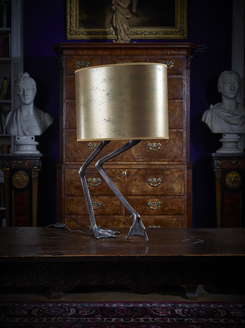 Andara Lamp (gold) RRP £2115 / Sale Price £900