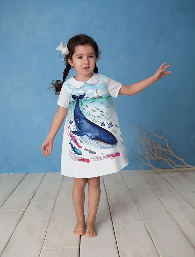 Papergirl Children A dress