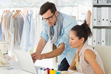 fashion Designers in work