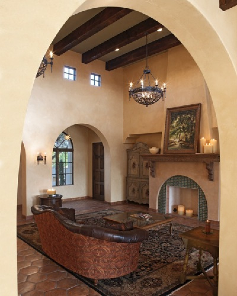 Spanish Colonial Vanguard Studio Inc Austin Texas Architect