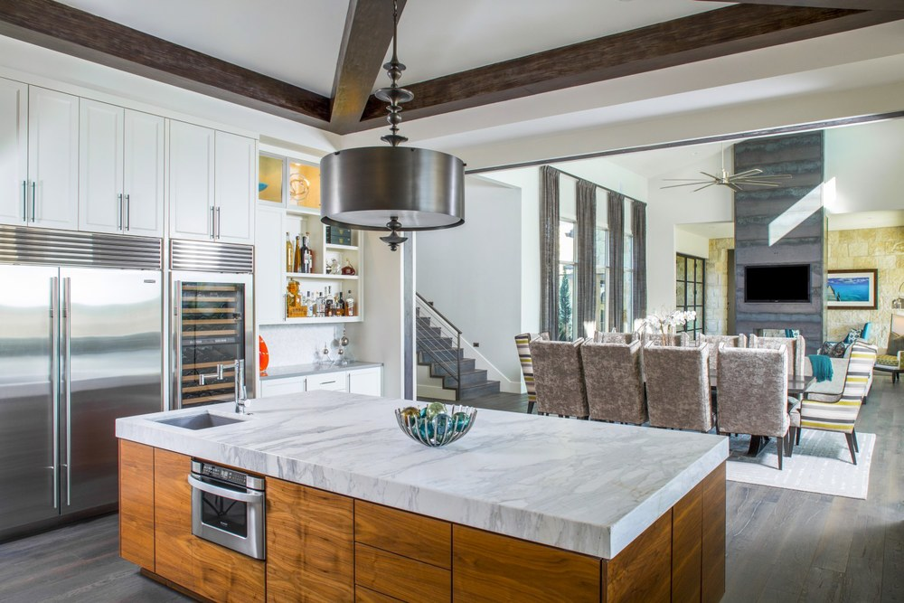 Architecture Home Musket Contemporary kitchen