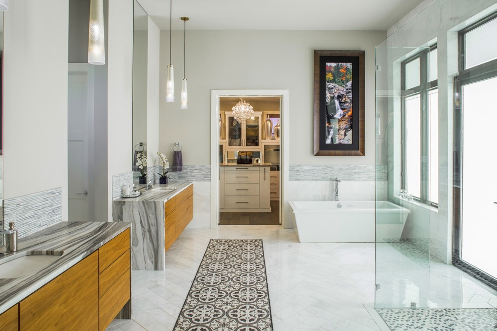 Architecture Home Musket Contemporary bathroom