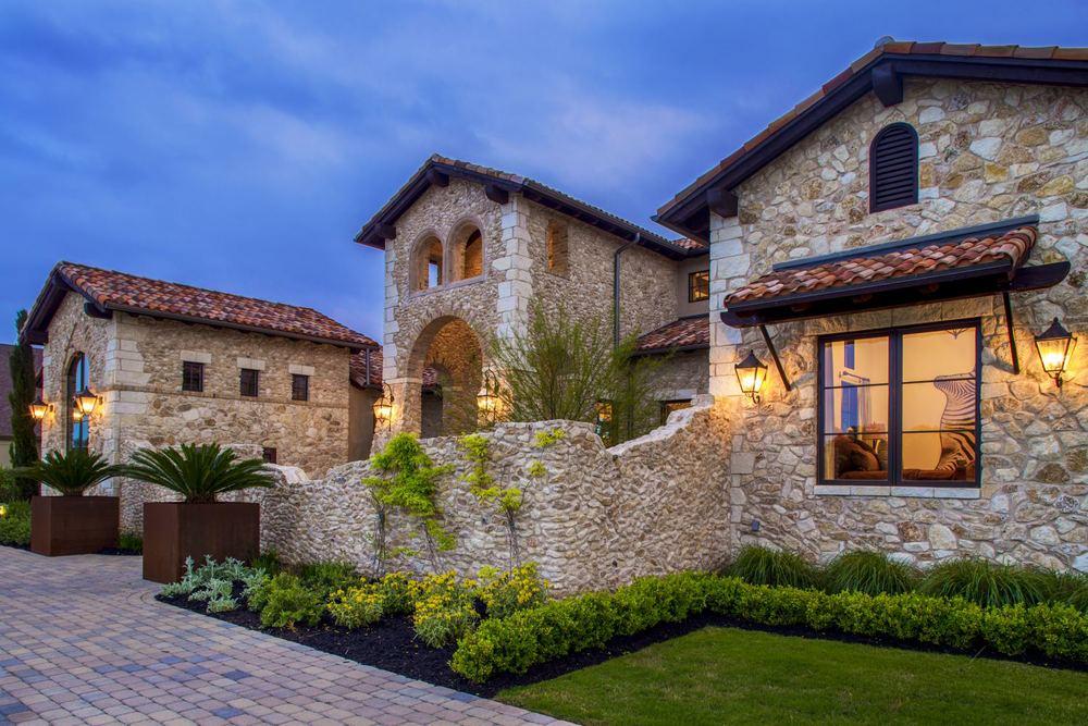 Architecture Home Rustic villa exterior