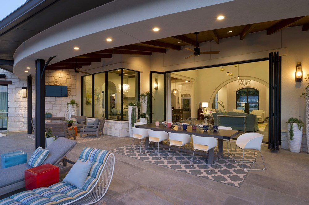 Architecture Home Contemporary elegance patio