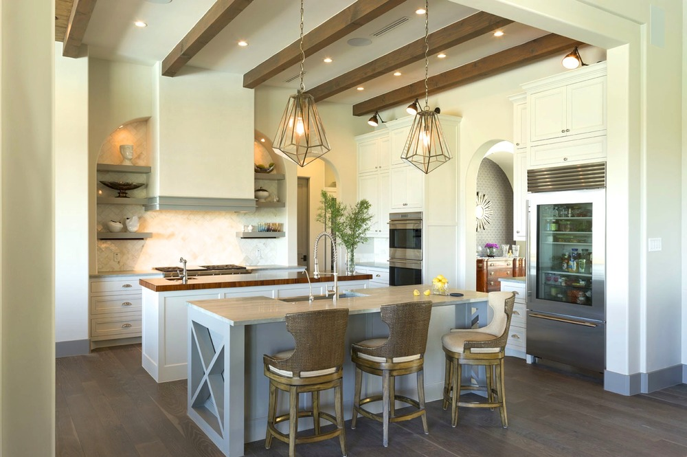 Architecture Home Contemporary elegance kitchen