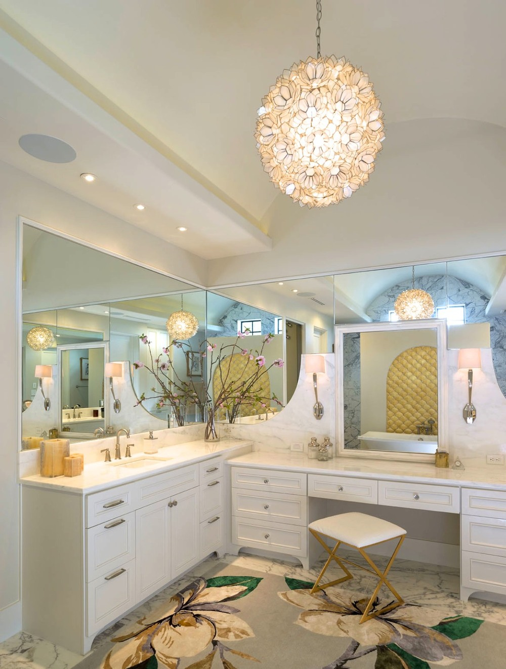 Architecture Home Contemporary elegance bathroom
