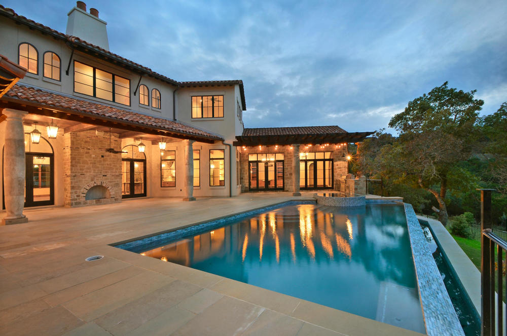 Architecture Home Italian estate pool