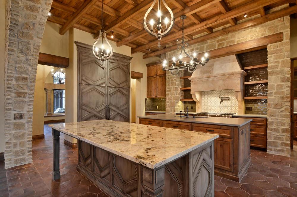 Architecture Home Italian estate kitchen