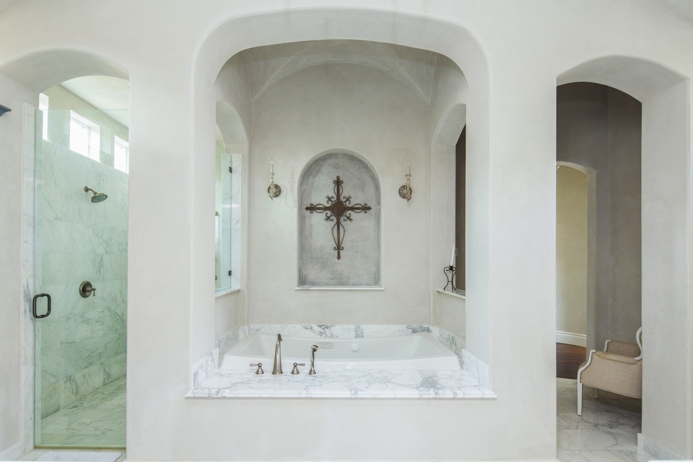 Architecture Home European simplicity bathroom