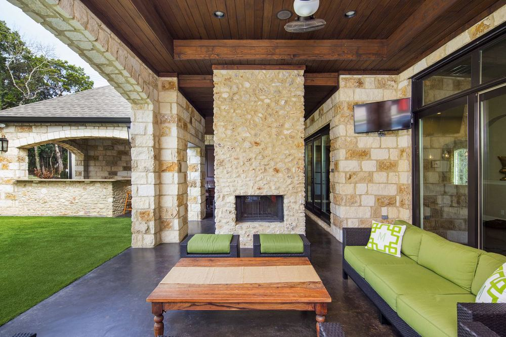 Architecture Home French contemporary patio