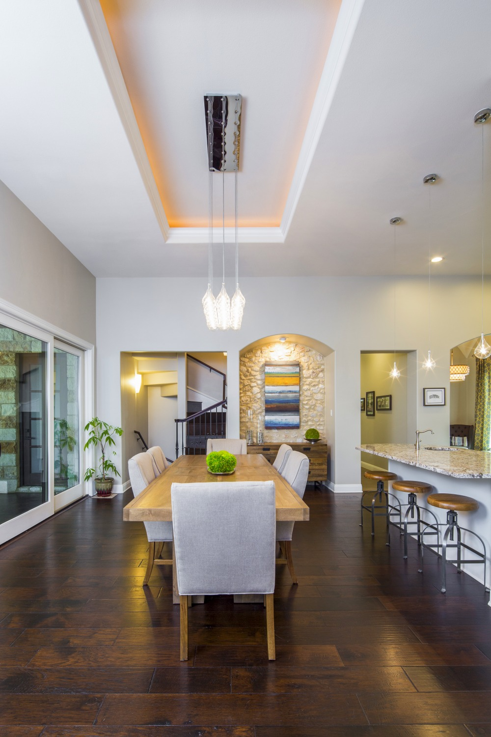 Architecture Home French contemporary dining