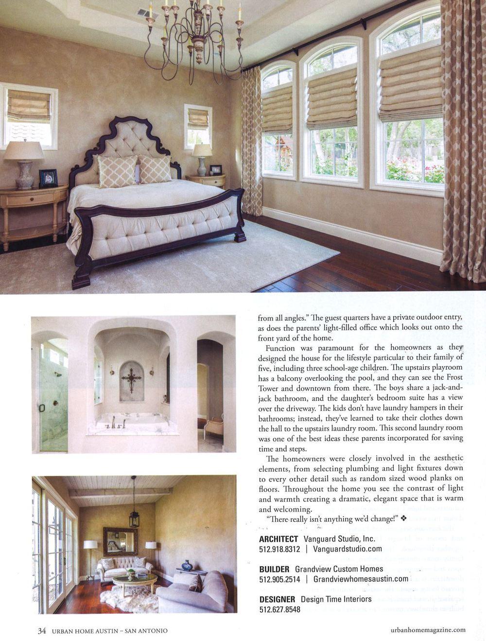 Urban Home Magazine Austin SanAntonio vanguardstudio