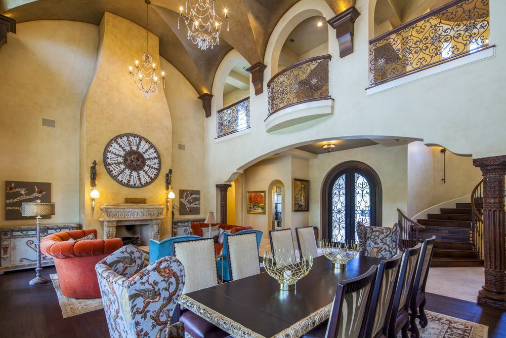 Architecture Home Eclectic old world Architecture Home Eclectic old world dining