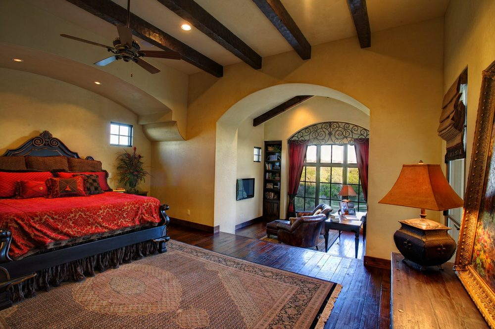 Architecture Home Courtyard retreat bedroom